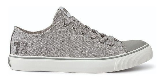 Zapatillas Pony Since 72 Ox Canvas Gris