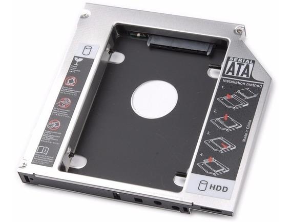 Adaptador Caddy Para Apple Ssd Ou Hdd - 9.5mm Macbook
