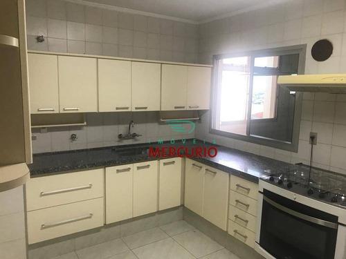 Apartamento Com 3 Dormitórios À Venda, 140 M² Por R$ 595.000,00 - Vila Nova Santa Clara - Bauru/sp - Ap3132