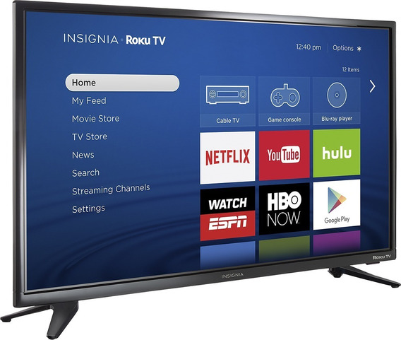 Tv Insignia 32 Pulgadas Smart Tv Roku Tv 720p -210v