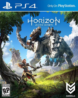Horizon Zero Dawn Ps4 Juego Fisico Original Sellado Cd Full