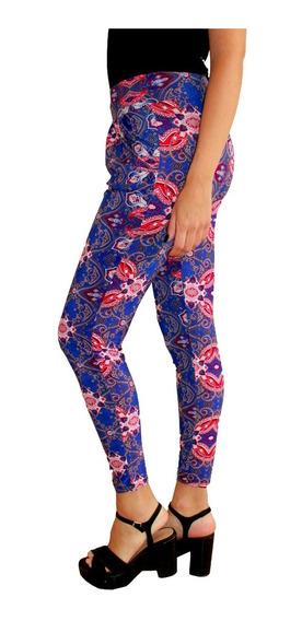Pantalon Babucha, Estampada Seda Fria, Brishka, T015