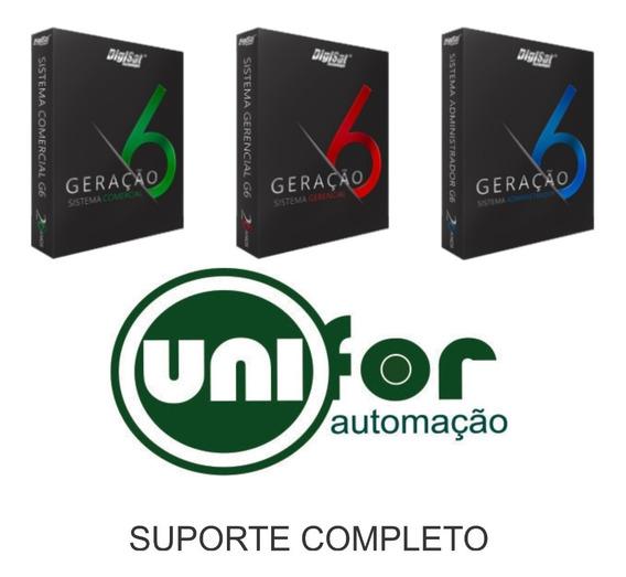 Sistema Administrador G6 Digisat - Nfe-nfce-ecf - 3 Licenças