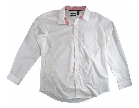 Camisa Social Van Heusen Fit Branca Original Tamanho Gg
