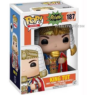 Funko Pop King Tut 187 Original Batman Heroes Dc Comics