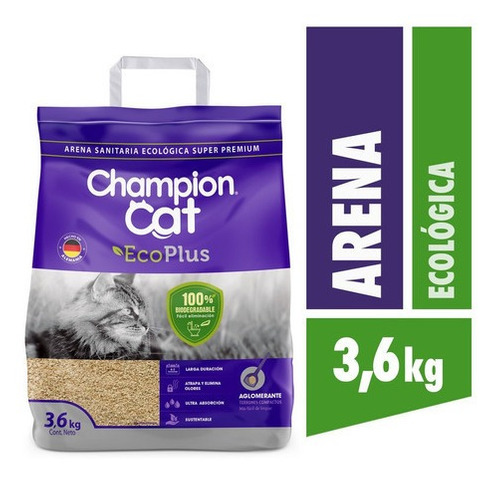 Champion Cat Arena Ecoplus 3,6 Kg