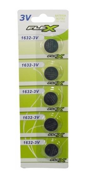 Bateria Cr1632 Botão Cartela Com 5 Peças Original - 9549