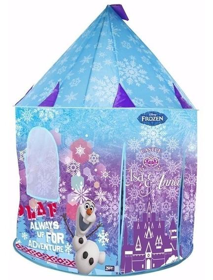 Barraca Castelo Toca Portátil Frozen Elsa Anna