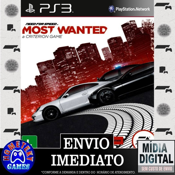 Need For Speed Most Wanted - Psn Ps3 Play 3