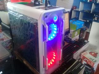 Cpu Gamer Marvo Y Altek Intel Core Luces Led En Ventiladores