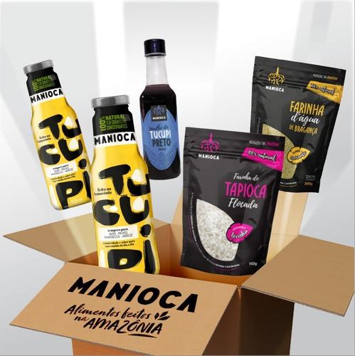 Kit Mandioca C/ Produtos Da Amazônia 100% Naturais - Manioca
