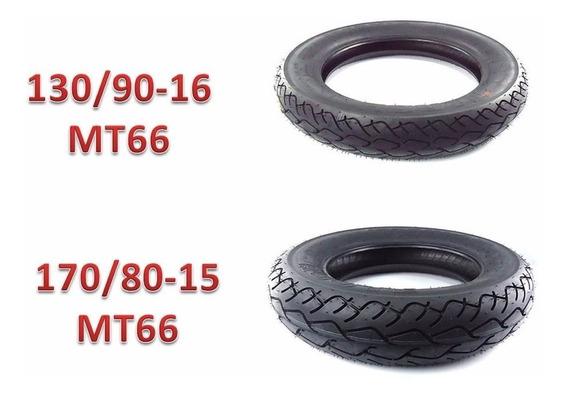 Pneu Pirelli Mt66 170/80-15 130/90-16 Drag Star Boulev (par)