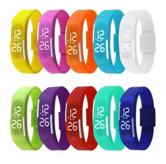 Relógio Pulseira Digital Led Bracelete