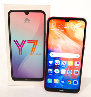 Telefonos Celulares Huawei Y7 2019 Rojo Dual Sim 32gb (m)