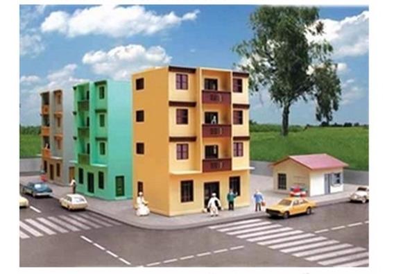 Ferromodelismo Prédio De Apartamento 1:87 Ho Frateschi