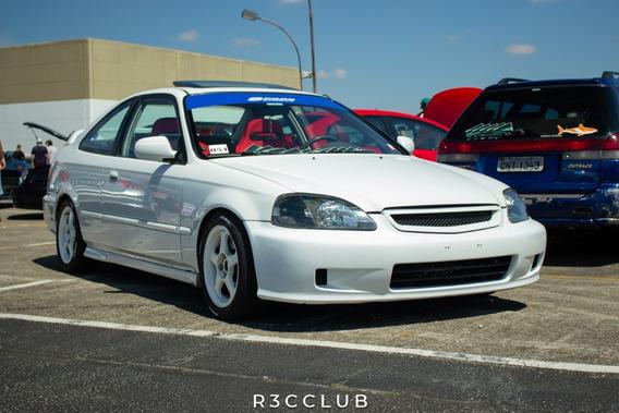 Civic Coupé Ex 1.6 Vtec 127cv Branco Impecável - Raro