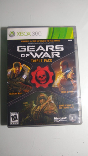 Gears Of Wars Triple Pack Xbox 360 Lenny Star Games