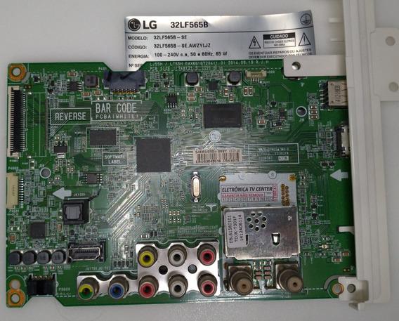 Placa Principal Tv Lg 32lf565b Eax66167204(1.0) Semi Nova