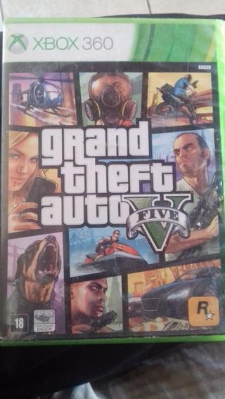 Jogo Xbox360 Gta 5 Em Bom Estado