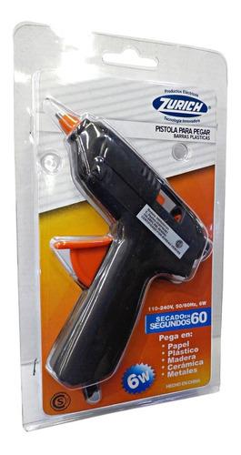 Pistola De Pegar Silicona 6w 220v 380°c 1° Zurich Nwr000131