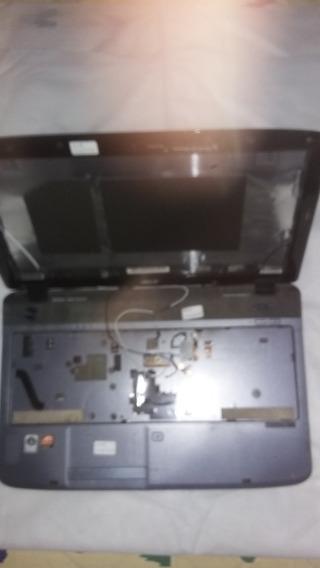 Carcaça Completa Not Acer 5536-5236 Hdmi + Dobradiças -usado