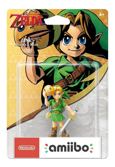 Amiibo Link Majora Mask Zelda Breath Of The Wild Majoras