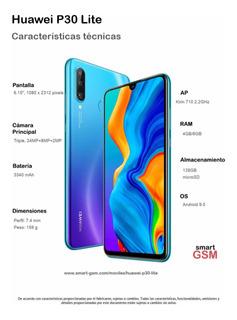Huawei P30 Lite 128gb - 4gb De Ram