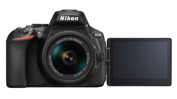 Nikon D5600 18-55mm F/3.5-5.6 Pronta Entrega 12x S/juros