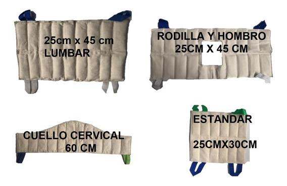 Compresas Humedo Caliente Para Compresero (100% Bentonita)