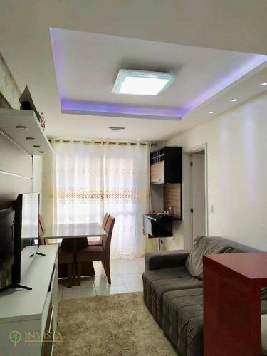 Imagem 1 de 17 de Apartamento Mobiliado Á 700 Metros Do Mar - Ap5824
