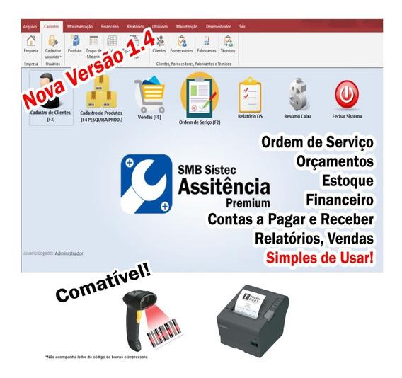 Sistema Completo Assistência Técnica Com Ordem De Serviço