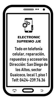 Servicio Técnico Celular Electronic Supremo Jje C,a