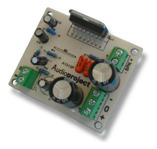 Imagen 1 de 5 de Modulo Amplificador 100 Watts Reales C/ Tda7294 Audioproject
