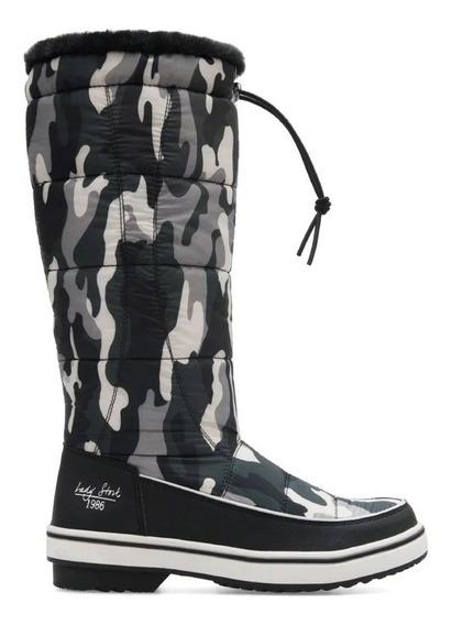 Bota Pre Ski Lady Stork Confeccionada En Textil Poliester Con Variedad De Estampados Y Cierre Ajustable