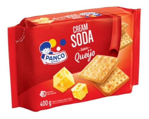 Biscoito Cream Soda Queijo Panco 400 Grs.