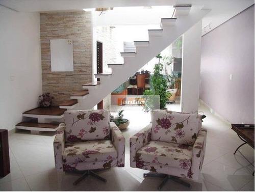 Sobrado Residencial À Venda, Jardim Milena, Santo André. - So1033