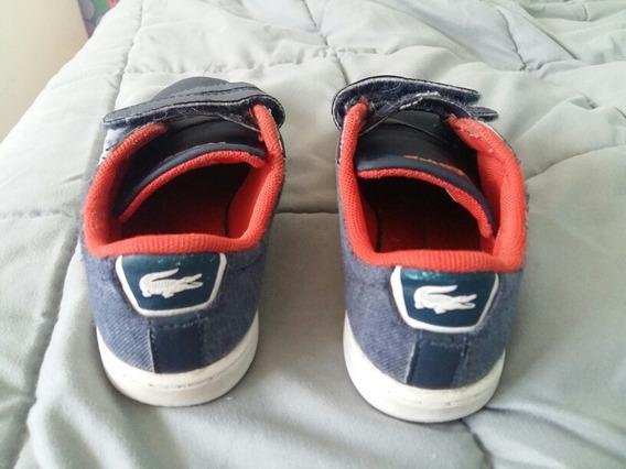 Zapatillas Niño Lacoste Talle 26