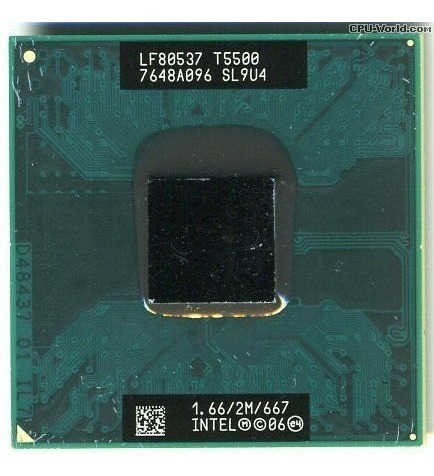 Processador Notebook Intel Core 2 Duo 1.66 2m 667 Semi Novo