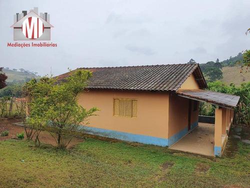Ótima Chácara Com 2 Dormitórios, Fácil Acesso, Excelente Localização, À Venda, 500 M² Por R$ 170.000 - Rural - Socorro/sp - Ch0785