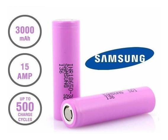 2x Bateria Samsung Inr18650 30q 3000mah 15a Original