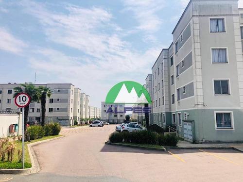 Imagem 1 de 30 de Apartamento Com 2 Dormitórios À Venda, 48 M² Por R$ 149.000,00 - Costeira - Araucária/pr - Ap1066