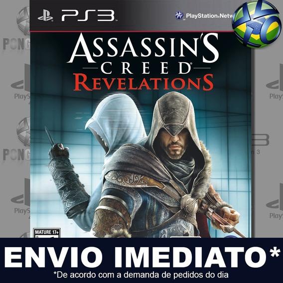 Assassins Creed Revelations Ps3 Digital Psn Legendado Português Jogo Em Promoção