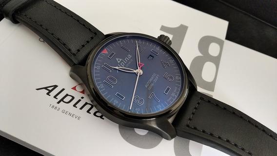 Relógio Suíço Alpina Automatico 44mm Novíssimo Com Estojo!