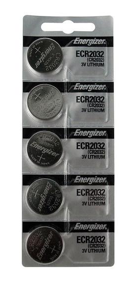 Bateria Cr2032 3v Lithium Cartela Com 5 Unidades Placa Mãe