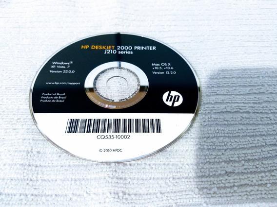 Cd - Hp Deskjet 2000 - Printer J210 Series