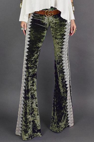 Pantalon Acampanada Moderno Elegante