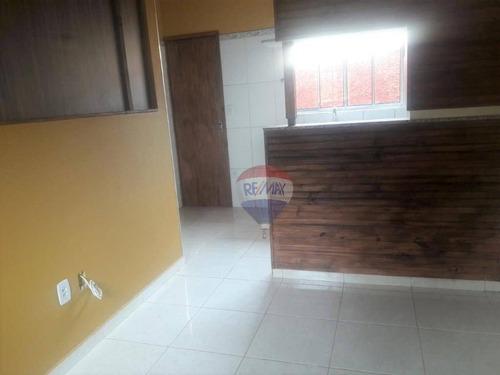 Imagem 1 de 8 de Kitnet Com 1 Dormitório Para Alugar, 30 M² Por R$ 580,00/mês - Park Residencial Convívio - Botucatu/sp - Kn0014