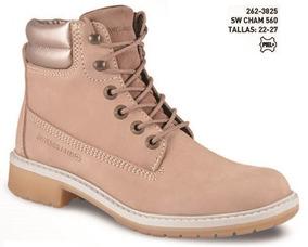 Zapato Swissbrand Cham P/ Dama Tallas 22-27 Mx