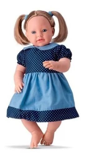 Boneca Bebe Grande Cabelo Que Canta Cancões Criança 1un
