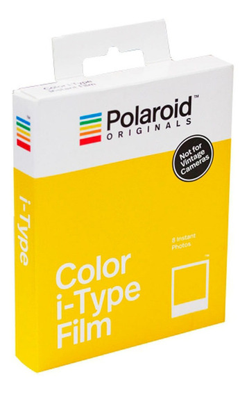 Filme Colordio I-type P/8 Fotos Instantâneas Borda Branca -